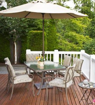 beautiful outdoor decks - Big Easy Fences