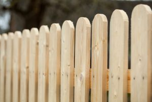 Wood Fence in New Orleans