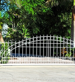 drive way wrought iron fences - Big Easy Fences