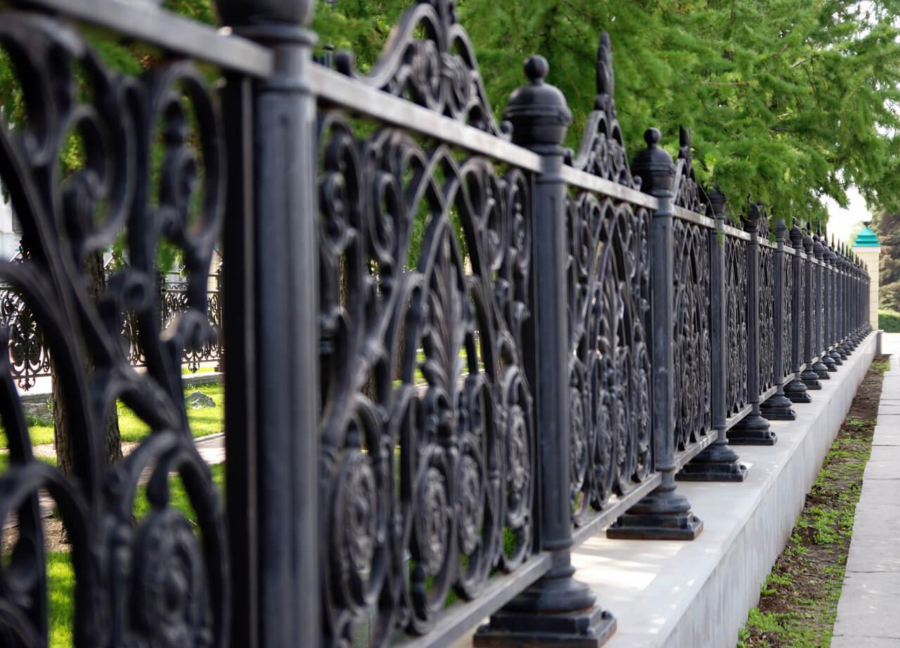 black aluminum fence new orleans - Big Easy Fences