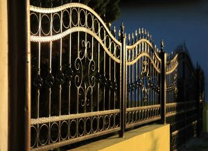 wrought iron fence gate new orleans - Big Easy Fences