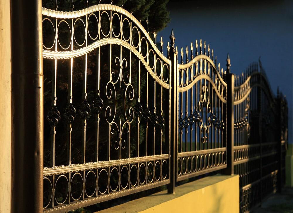 Gold Color Fence - Big Easy Fences