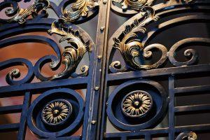 Wrought iron fence - Big Easy Fences