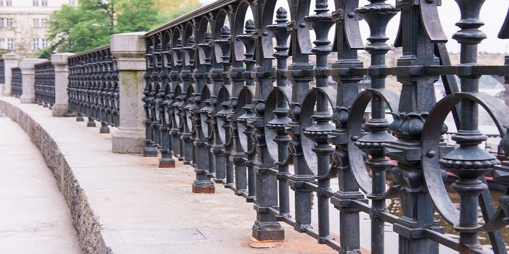 Metal fence panels - Big easy Fences