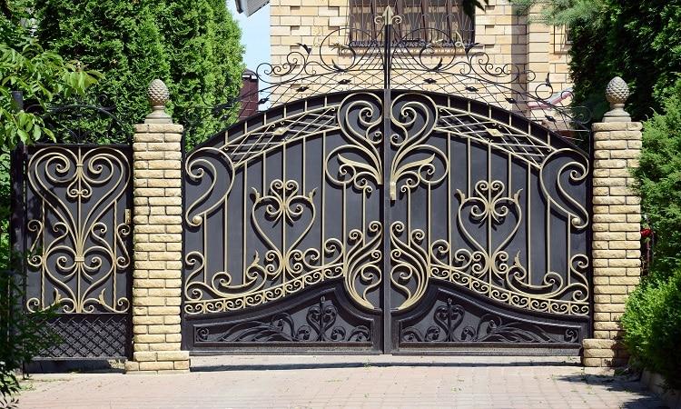 Wrought Iron Gate - Big Easy Fences
