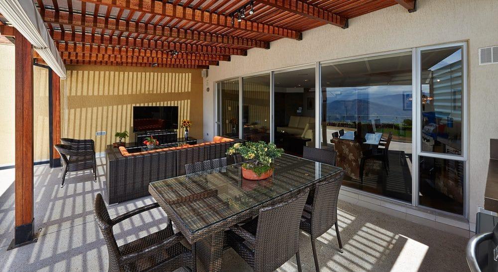 commercial outdoor deck