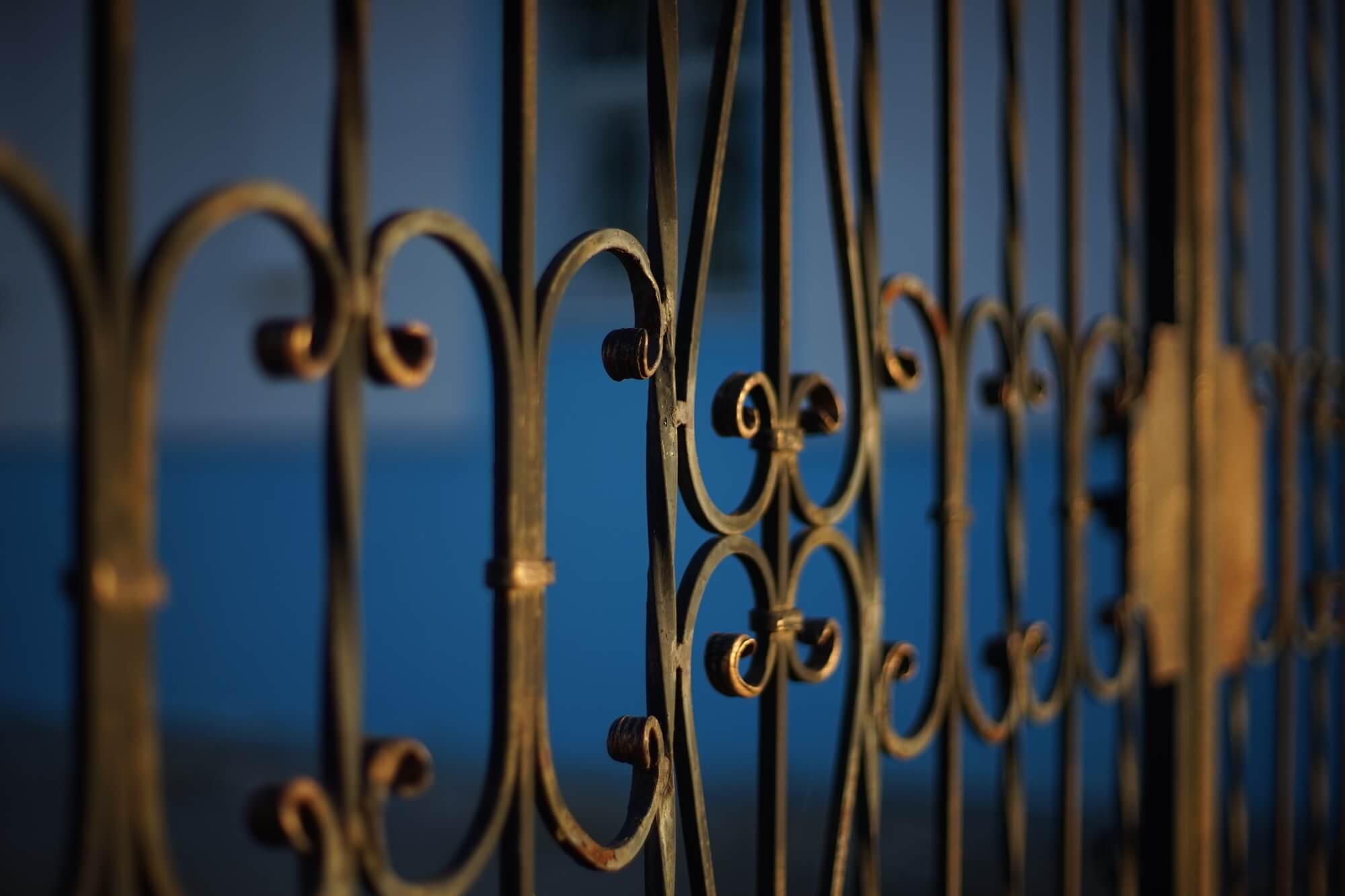 Black Forged Metal Fences - Big Easy Fences
