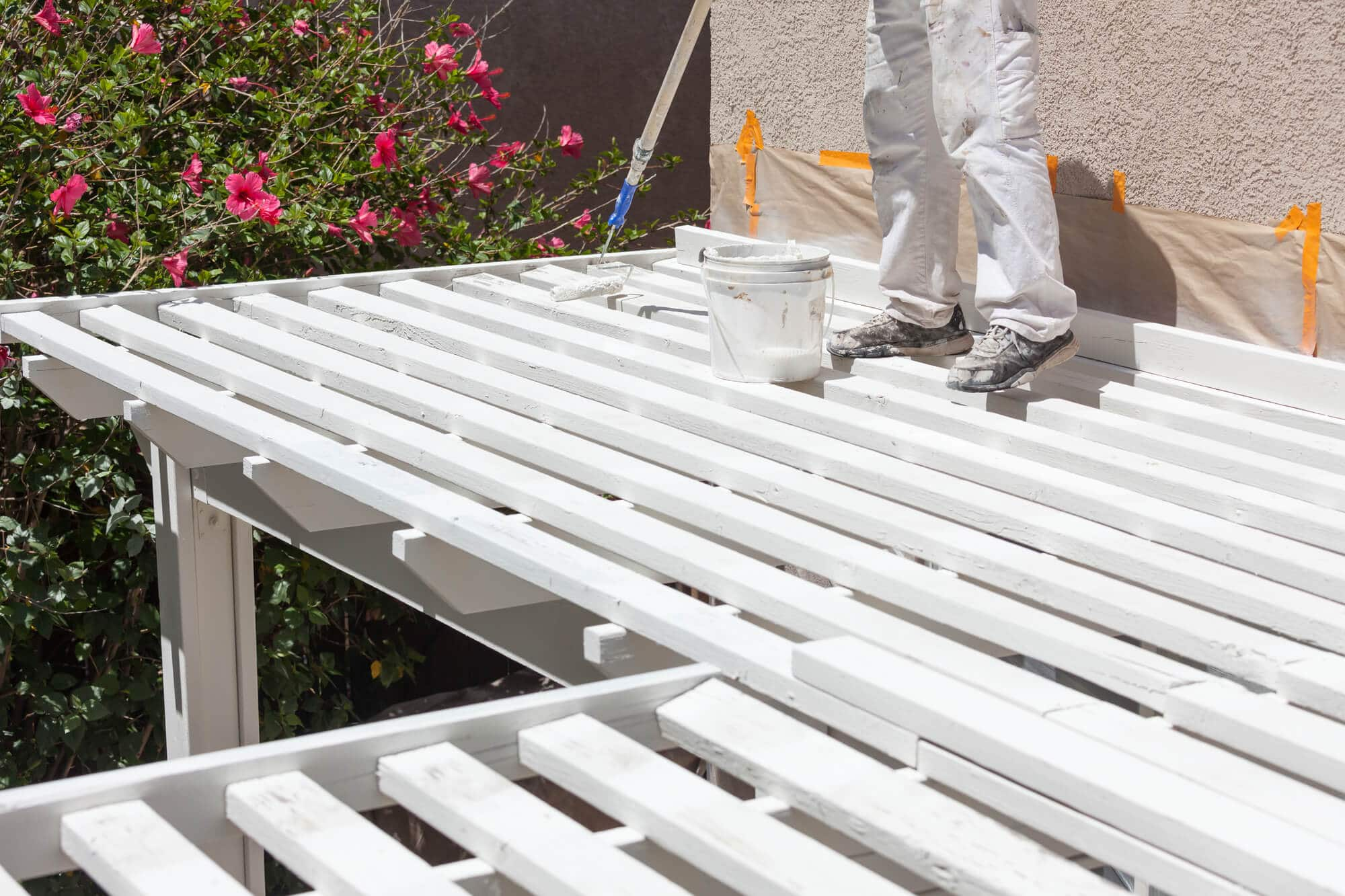How high should a patio cover be - Big Easy Fences