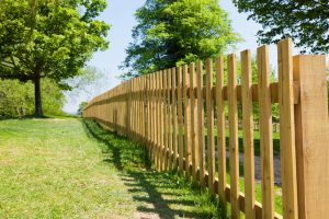 Natural Aesthetic Wood Fence