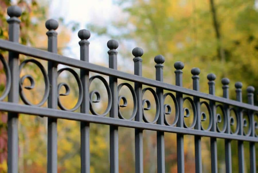 Cast iron fence-Bigeasy fences.com