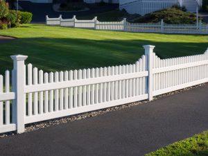 White- Picket fence-BigEasy Fences.com